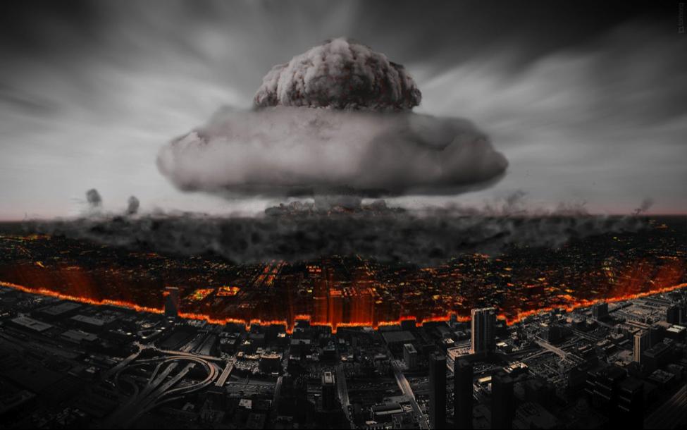 nuclear ruins
