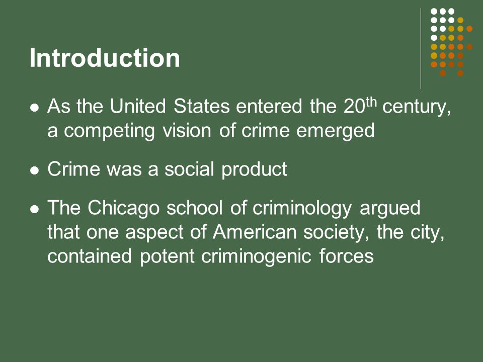 Contemporary Sociological Theories Of Crime