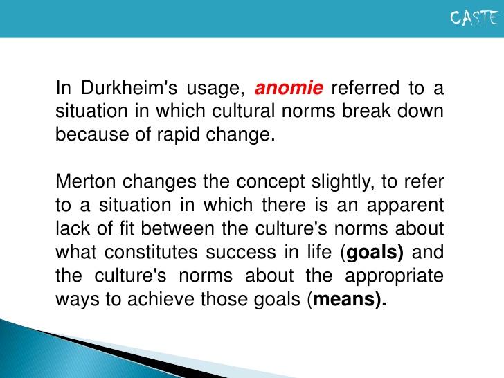 anomie example